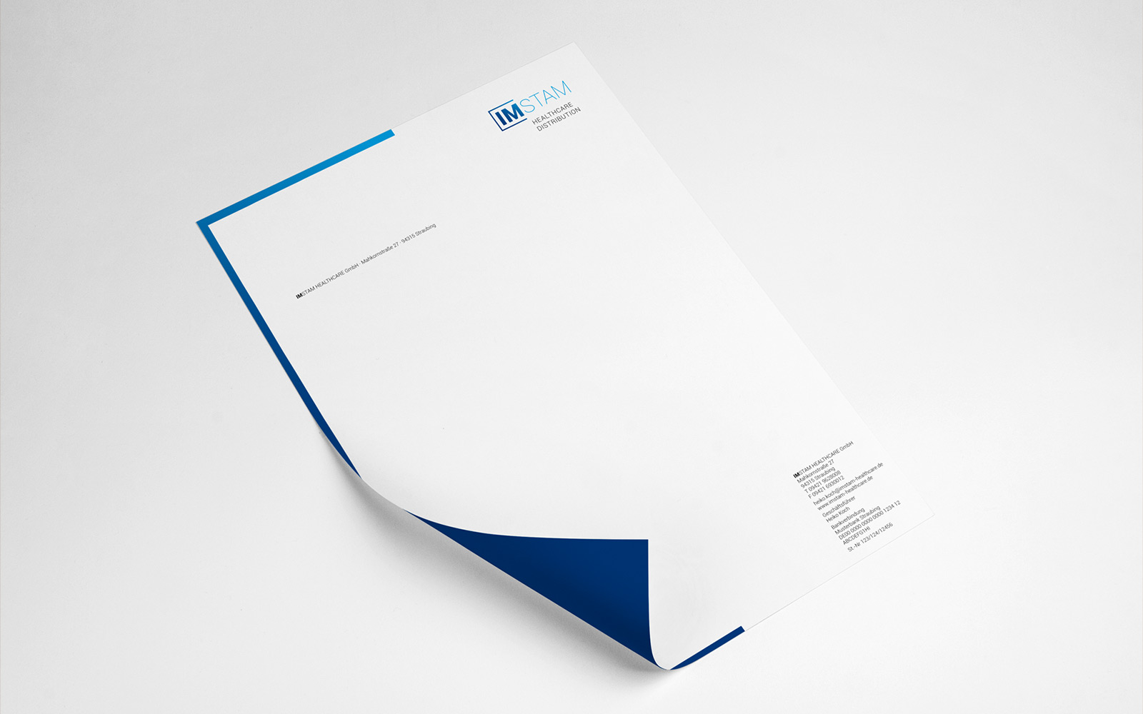 IMSTAM – Briefbogen