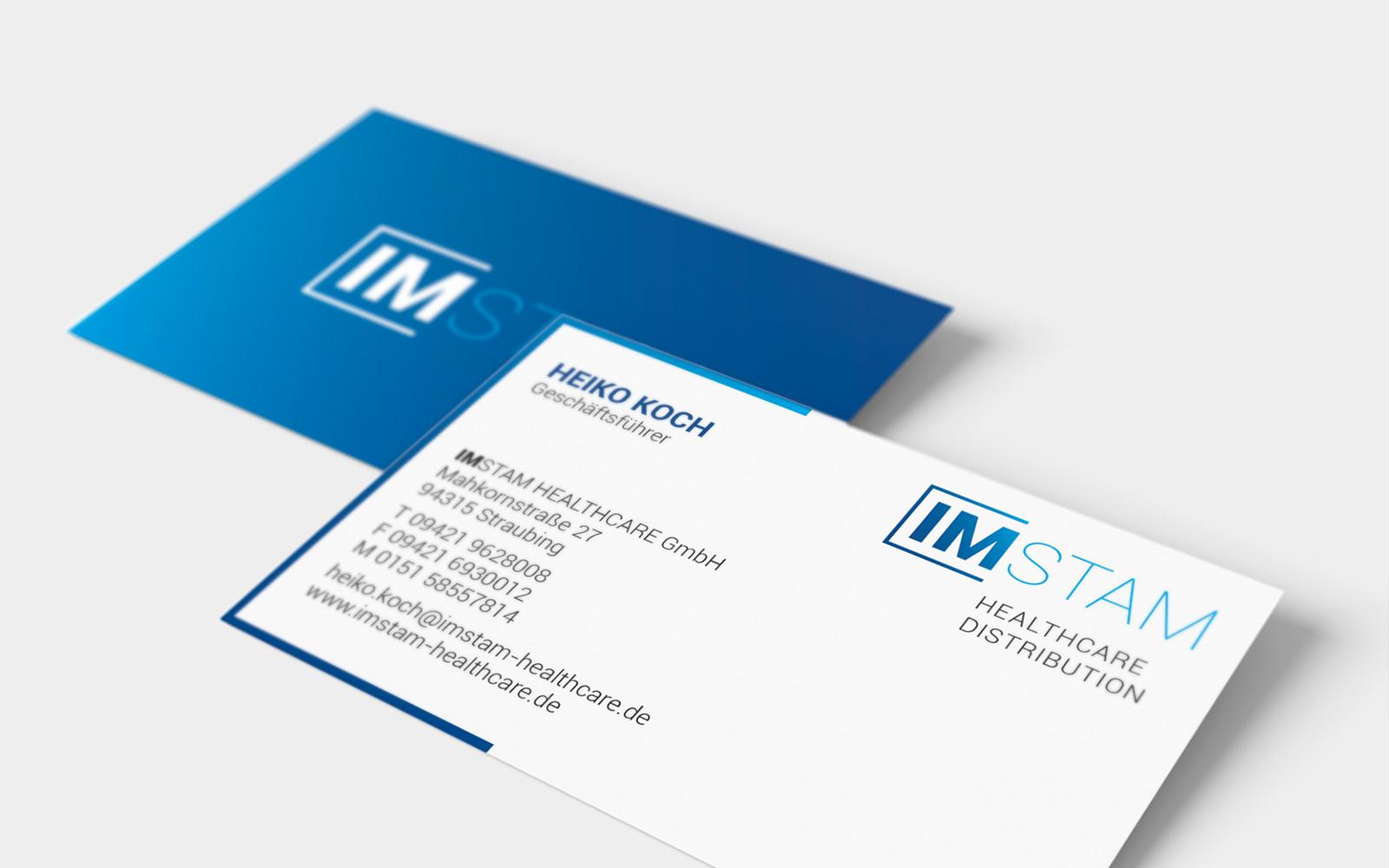 IMSTAM – Visitenkarten