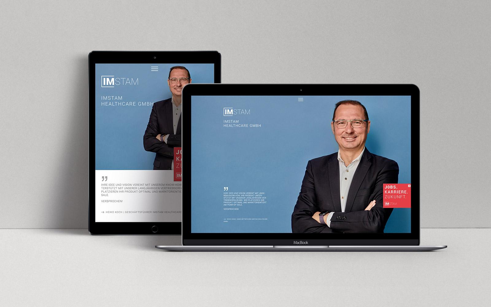 IMSTAM – Webseite