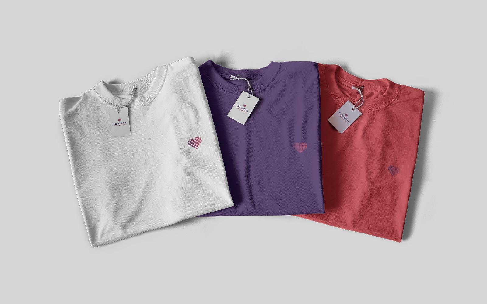 Firmenherz – Shirts