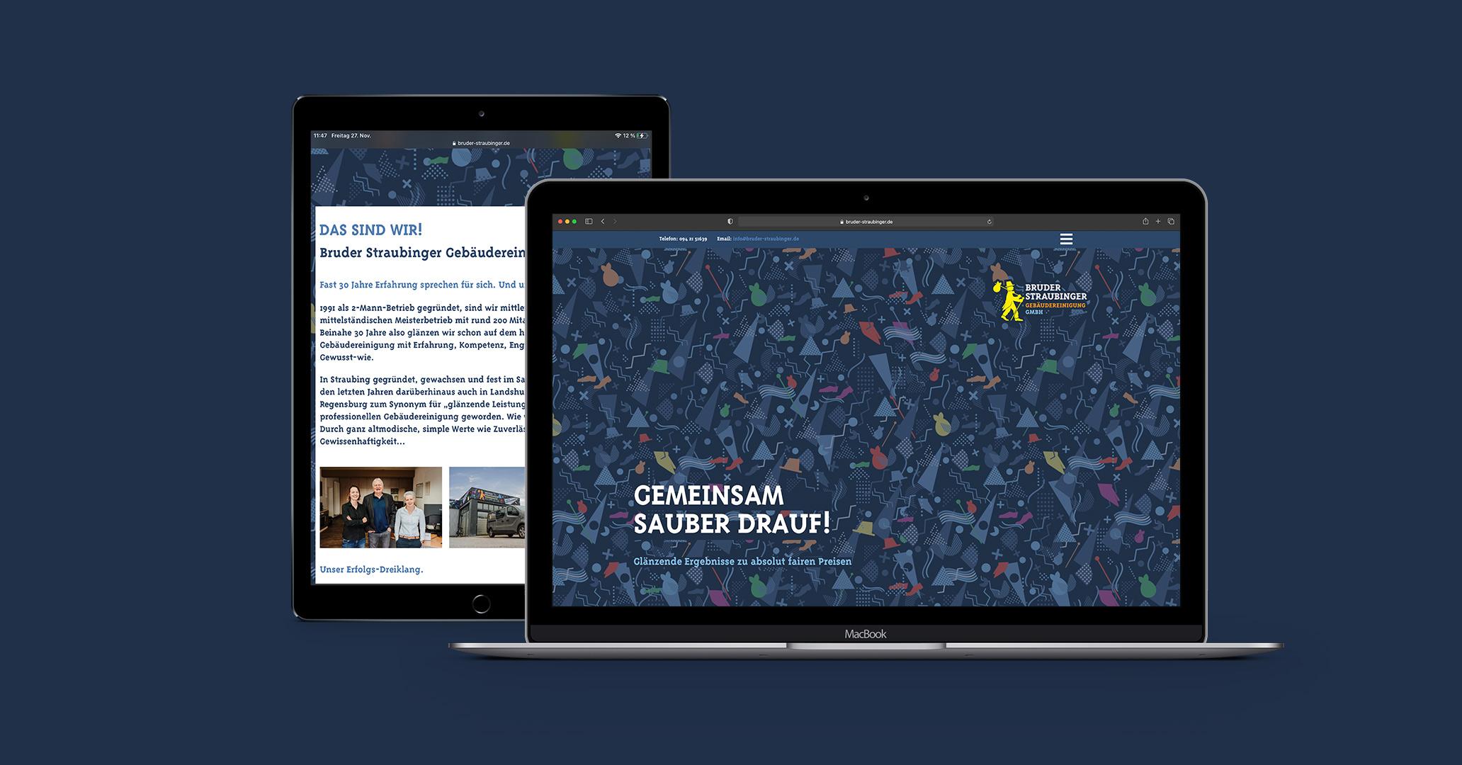 Bruder Straubinger – Neue Webseite