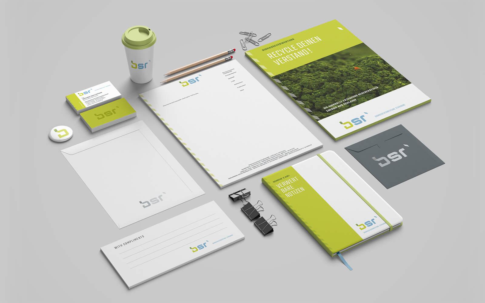 bsr – Corporate Design