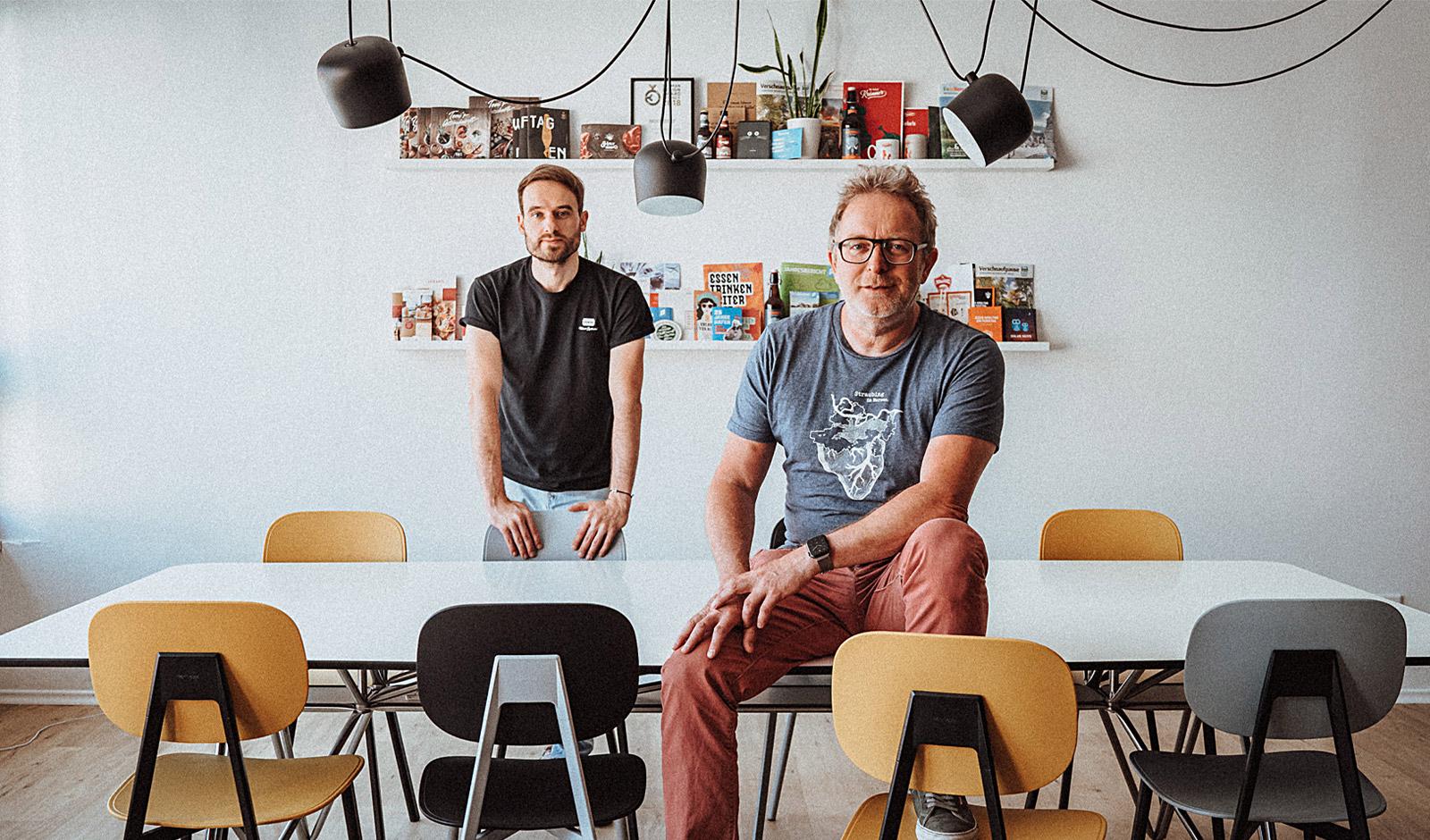 Matthias Lehner und Dieter Zollner, teamElgato Werbeagentur