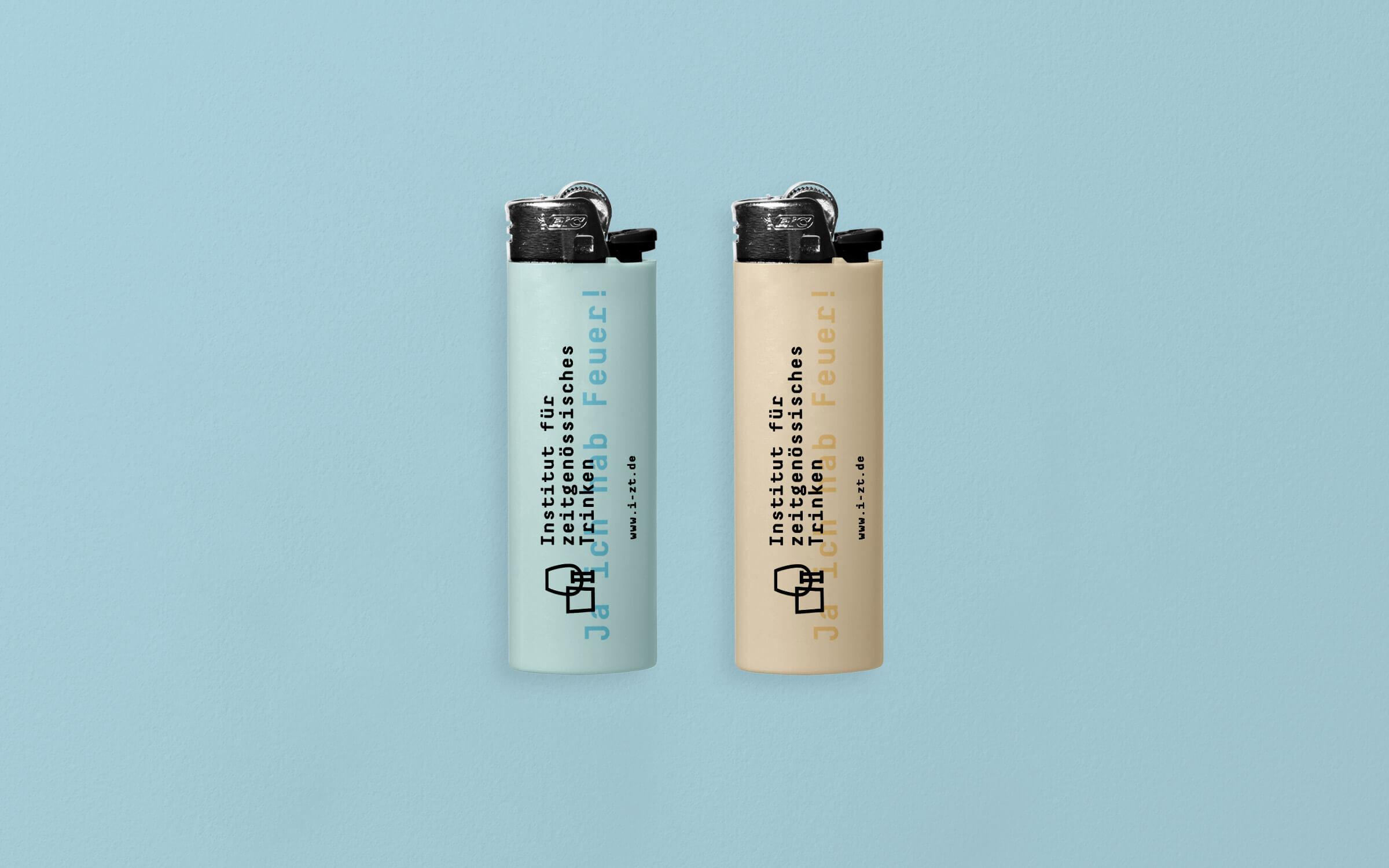 Institut für zeitgenössisches Trinken – Feuerzeuge